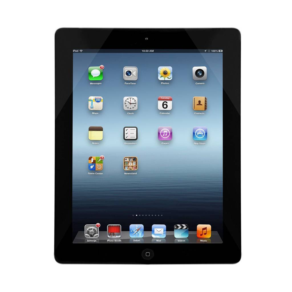 "iPad 4 (4th Generation) 9.7"" 16GB with WiFi - Black"