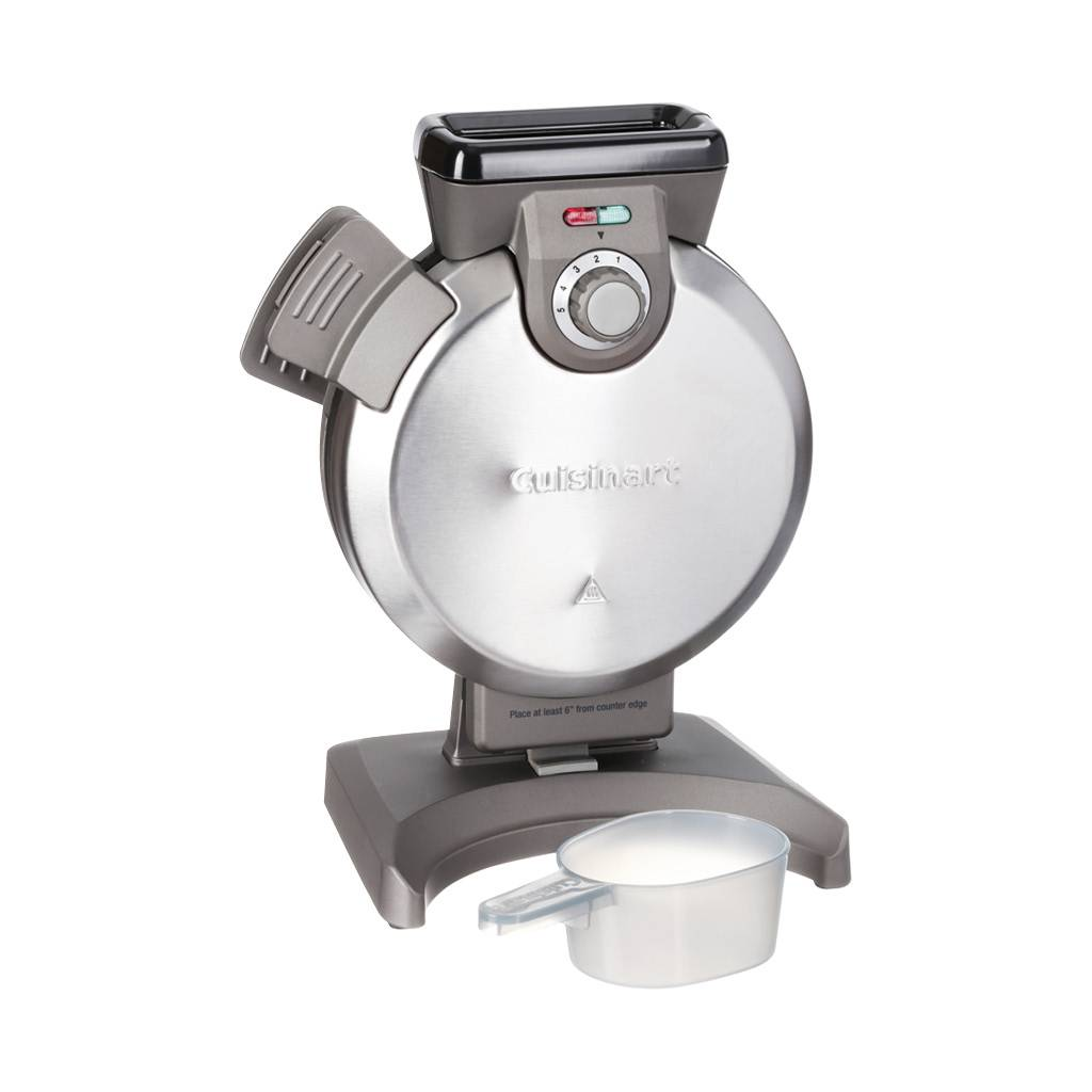 WAF-V100 Vertical Waffle Maker / Silver (90 Days Warranty)