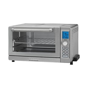 TOB-135 Deluxe Convection Toaster Oven Broiler - Brushed Stainless Steel (90 Days Warranty)
