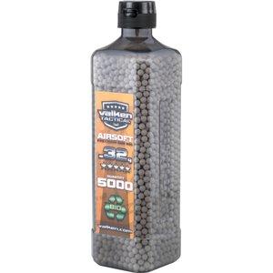 Valken Valken 0.32 Gram Bio Airsoft BBs (5000Ct Bottle)