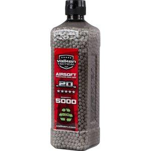 Valken Valken 0.20 Gram Bio Airsoft BBs (5000Ct Bottle)