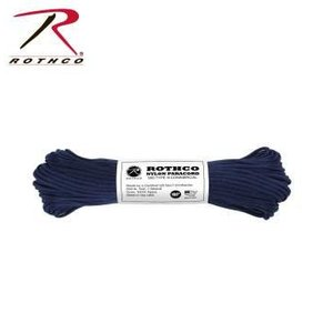 Rothco Nylon Type III 550 Paracord 100ft - Midnight Blue