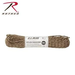 Rothco Nylon Type III 550 Paracord 100ft - Desert Camo