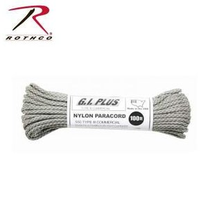 Rothco Nylon Type III 550 Paracord 100ft - ACU Camo