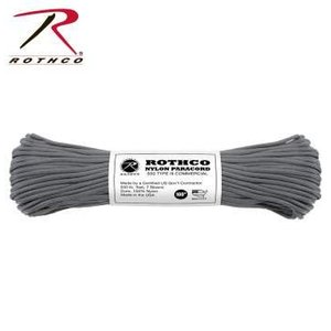 Rothco Nylon Type III 550 Paracord 100ft - Charcoal Grey