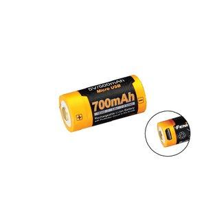 Fenix Fenix 16340 700 mAh USB Rechargeable Battery (ARB-L16-700U)