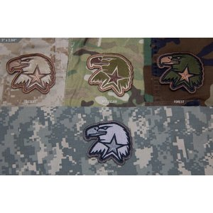 Milspec Monkey Eagle Star EMB Patch