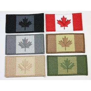 "CPK Small Canadian Flag Patch 1"" x  2"""