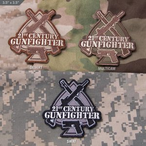 Milspec Monkey 21st Century Gunfighter Patch