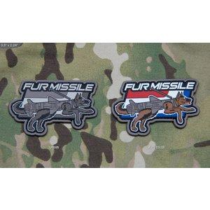 Milspec Monkey Fur Missile PVC Patch