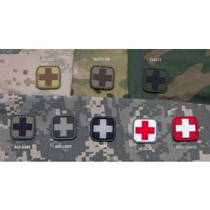 "Milspec Monkey Medic Square 1"" PVC Patch"