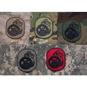 Milspec Monkey Beserker PVC Patch