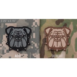 Milspec Monkey Bulldog Head - Small Patch