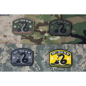 Milspec Monkey Don't Tread on Me PVC Patch