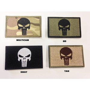 Poco Military Punisher Patch