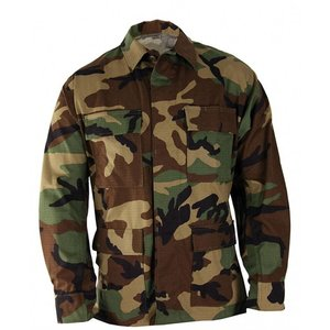 Propper International Propper Woodland Camo Uniform BDU Coat