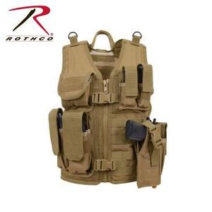Rothco Rothco Kid's Tactical Vest (Coyote Tan)