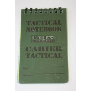 Mil-Spex MAG-10 Tactical Notebook