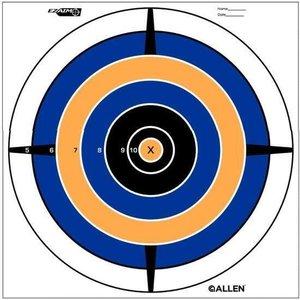 Allen Company Allen ezAim Bullseye Target Pack of 12 - 12 inch (#15205)