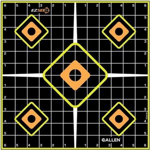 Allen Company Allen Adhesive Grid Target (5 PACK)