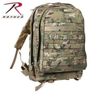 Rothco MOLLE II 3-Day Assault Pack  MultiCam