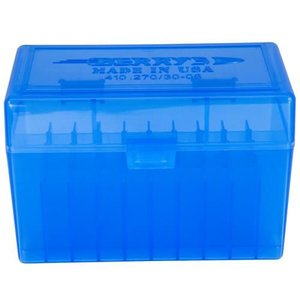 Berry Berry's .270 Win/30-06 Spring. (50 Round) Ammo Box (BLUE)