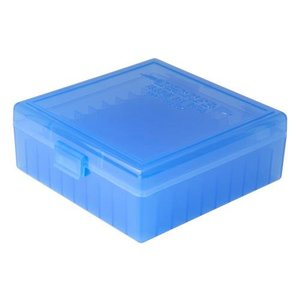 Berry Berry's 38 Spec/357 Mag (100 Rd) Ammo Box (Blue)