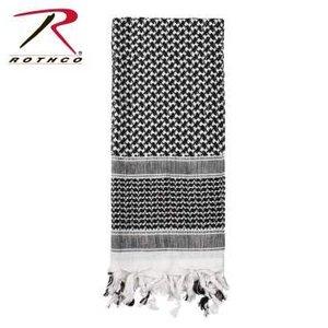 Rothco Rothco Tactical Shemagh Black / White