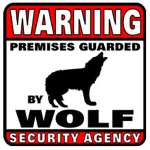 Militaria Guarded by Wolf Sign