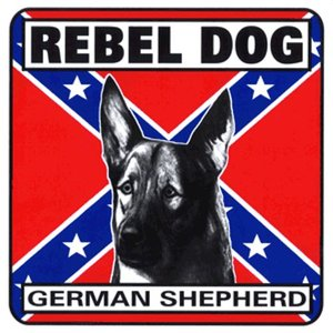 Militaria Rebel Dog Sign - German Shepard
