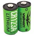 Valken Valken Energy CR123a Lithium Batteries (Pack of 2)