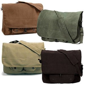Rothco Rothco Vintage Canvas Paratrooper Bag