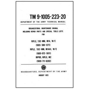 M14/M14a1 Technical Manual