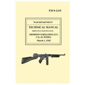 Thompson M1928a1 Technical Manual
