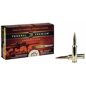 Federal Federal Premium 6.5 Creedmoor (130 Grain) Hybrid Open Tip Match