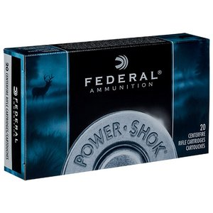 Federal Federal Power-Shok 7mm Mauser 175 Grain SP RN
