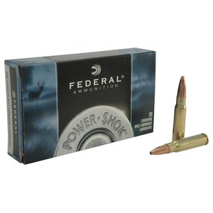 Federal Federal Power-Shok 338 Federal (200 Grain Uni-Cor SP)