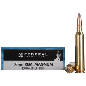 Federal Federal Power-Shok 7mm Remington Magnum (150 Grain SP)