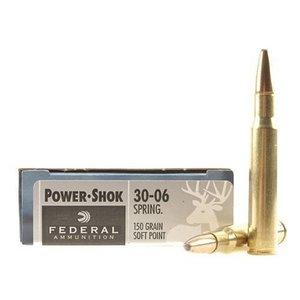 Federal Federal Power-Shok 30-06 Springfield (150 Grain SP)