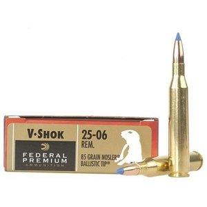 Federal Federal Premium Vital-Shok 25-06 Remington (85 Grain Nosler Ballistic Tip)