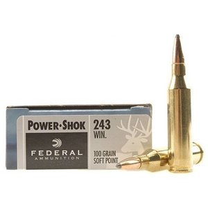 Federal Federal Power-Shok 243 Winchester (100 Grain SP)