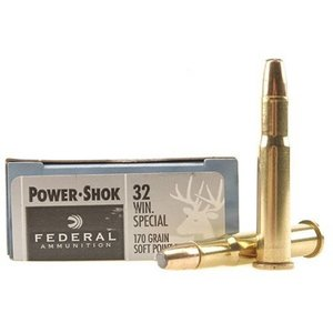 Federal Federal Power-Shok 32 Winchester Special (170 Grain SP FN)