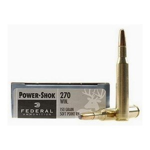 Federal Federal Power-Shok 270 Winchester (150 Grain SP RN)