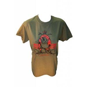 Poco Military Beaver Riding a War Goose T-Shirt (OD)