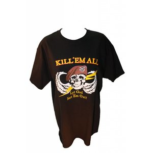 Poco Miltary Kill 'Em All T-Shirt (Black)