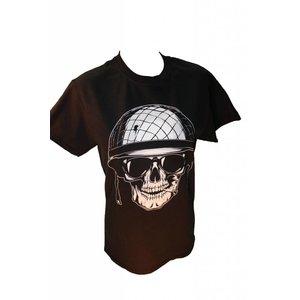 Poco Military Army Smoking Skull T-Shirt (Black)
