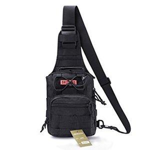 OneTigris OneTigris EDC Sling Bag - Black (MOLLE)