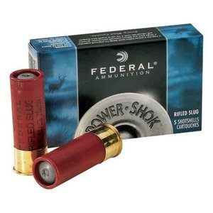 "Federal Federal Power-Shok 12 Gauge SLUG (2-3/4"" Maximum 1oz Hollow Point Slugs)"