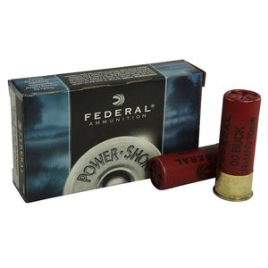 "Federal Federal Power-Shok 12 Gauge (2-3/4"" Maximum OOO Buckshot)"