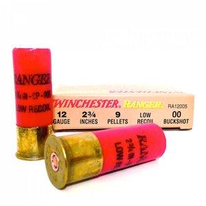 """Winchester Winchester Ranger 12 Gauge (2-3/4"""" Low Recoil OO Buckshot)"""